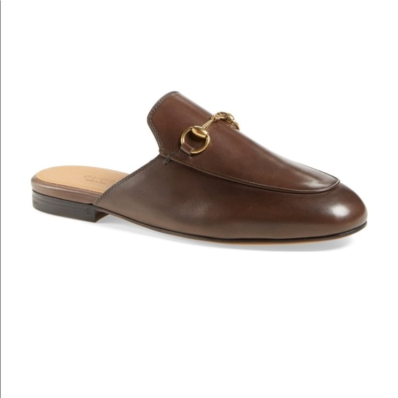 1a4855b75bf Gucci Shoes - GUCCI Princetown Loafer Mule 38 fondente brown
